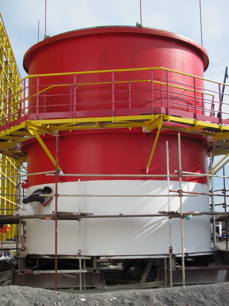 Komínové potrubia tepelná elektráreň Sisak